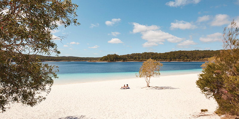 Lake McKenzie Great Beach Drive my nrma road trips