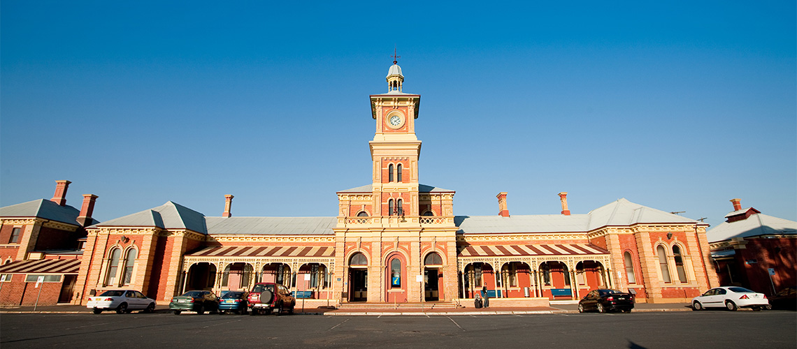 Railway Station The Murray my nrma road trips