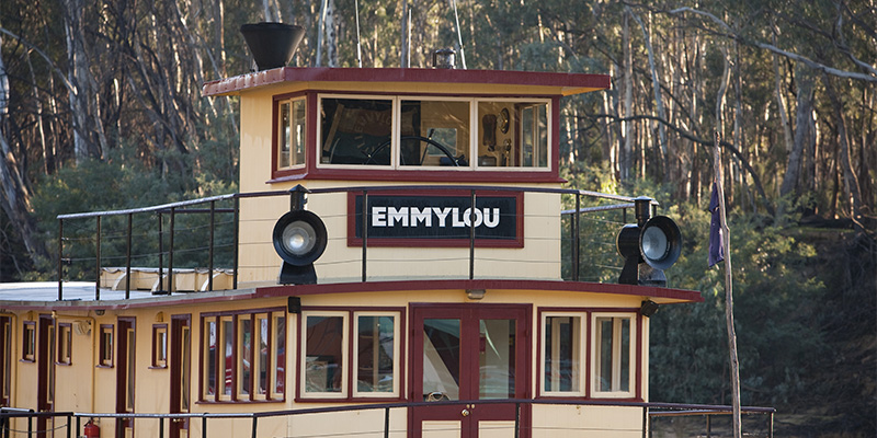 Emmylou The Murray River my nrma road trips