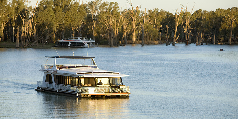 Houseboats The Murray my nrma road trips