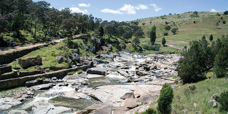 Adelong Falls Long Weekend Roadie my nrma road trips