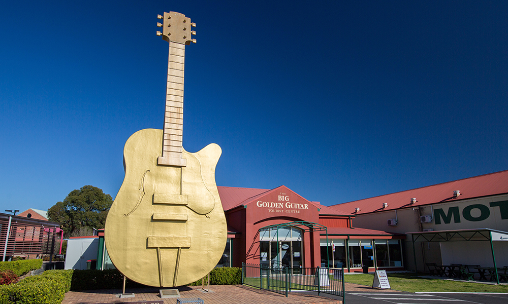 Big Golden Guitar - Tamworth