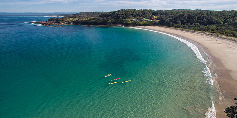 Kayaking Sydney to Ulladulla my nrma road trips