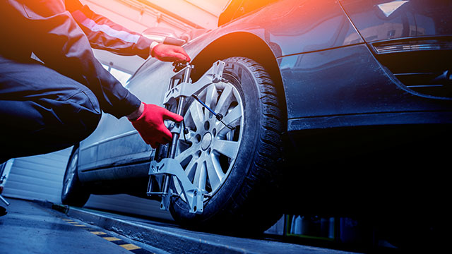 Where to get tires aligned