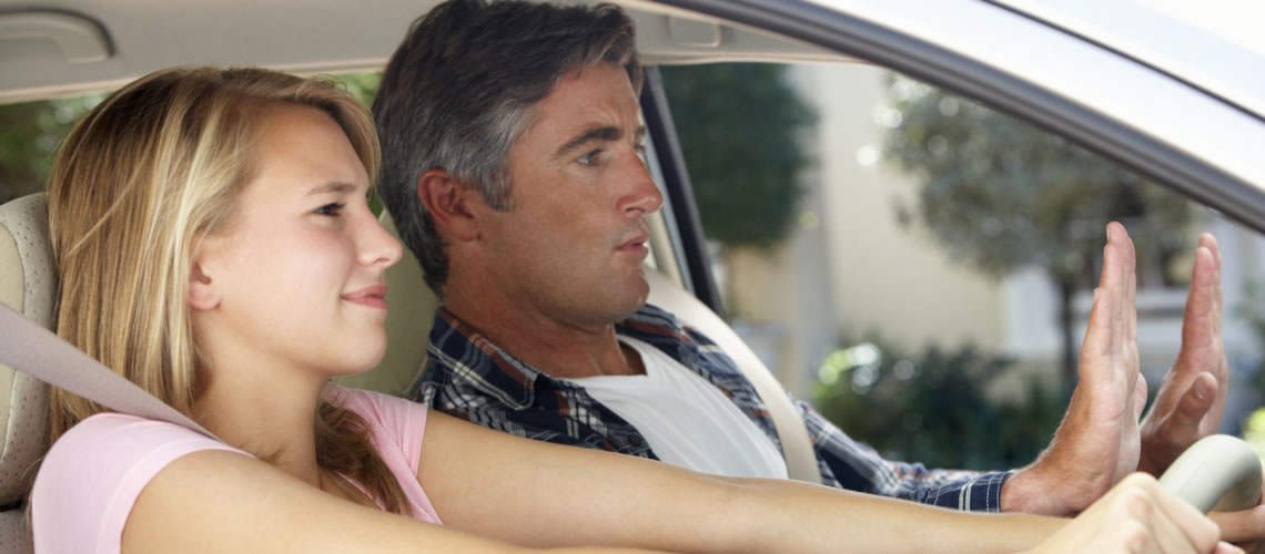 Driving hows teen