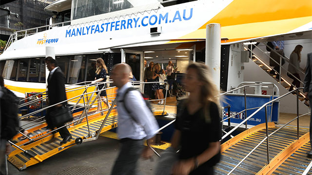 Manly Fast Ferry Social Value Images