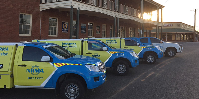 Patrol vehicles outside Tottenham Hotel