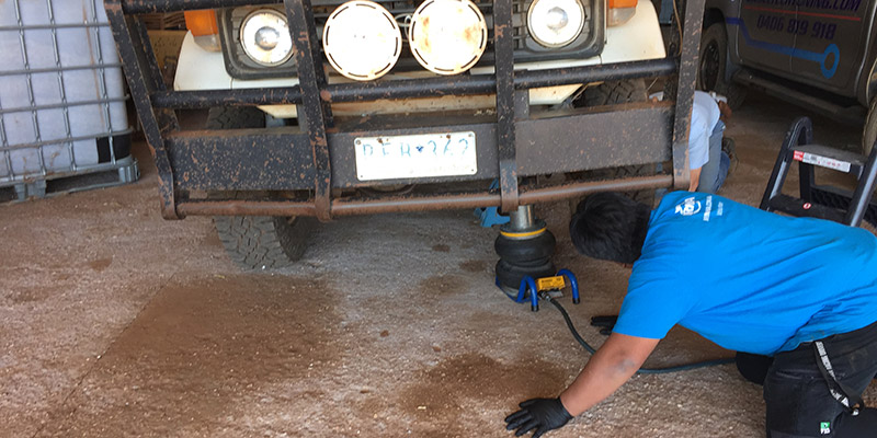 NRMA technician at work