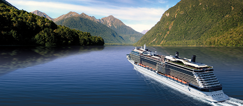 Celebrity Solstice Milford Sound