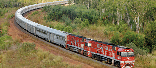The Ghan in the Top End