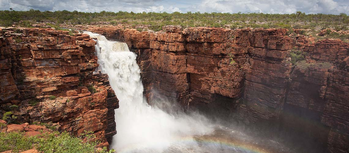 Waterfall in the Kimberley