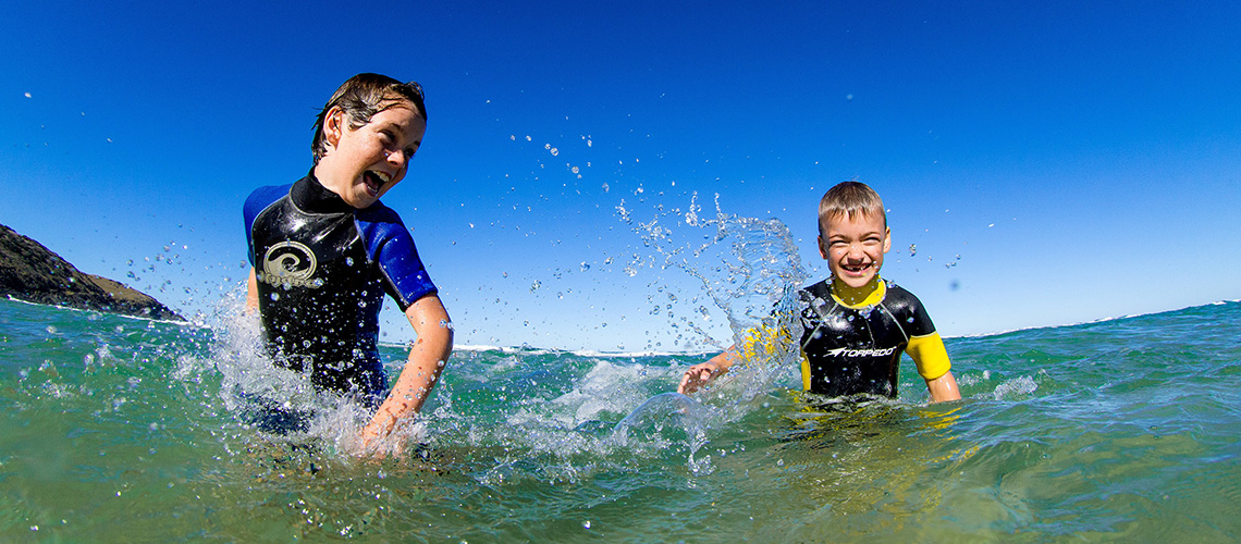 Kids Swimming Macleay Valley Holiday Park holiday finder my nrma