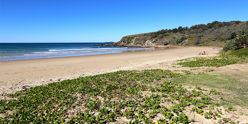 Beach at Coffs Harbour