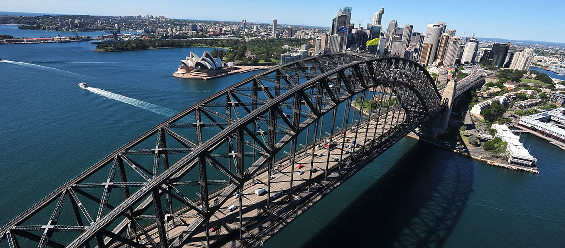 Sydney Harbour Bridge traffic